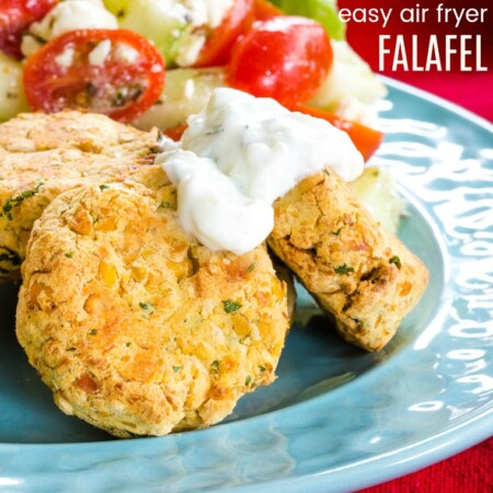 Easy Gluten Free Falafel recipe