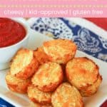 Baked Cauliflower Tots Pin Template Pink