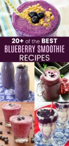 Best Blueberry Smoothie Recipes Pin