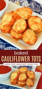 Gluten Free Cauliflower Tots Pin