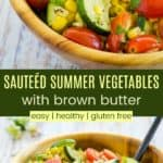 Easy Healthy Sauteed Summer Veggies Pin