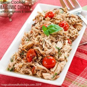 Slow Cooker Balsamic Chicken Recipe