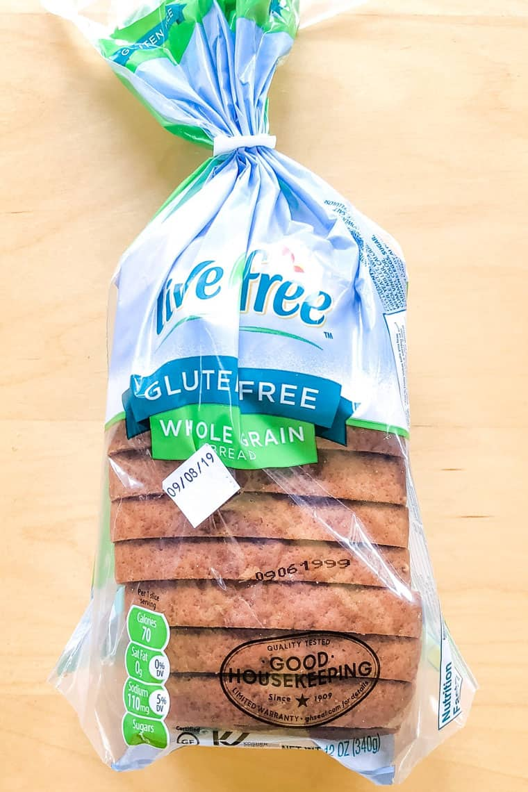 Aldi Live G Free Gluten Free Bread from the Best Gluten Free Bread Taste Test