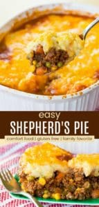 Easy Shepherd's Pie Pinterest Collage