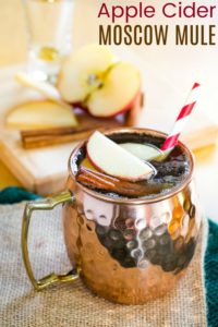 Apple Cider Moscow Mule Fall Cocktail Recipe