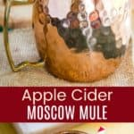 Apple Cider Moscow Mule Pinterest Collage