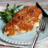 Baked Pumpkin Parmesan Chicken