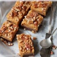 Chocolate Pumpkin Peanut Butter Fudge Recipe