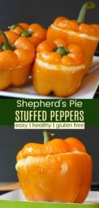 Shepherds Pie Stuffed Peppers Recipe Pinterest Collage