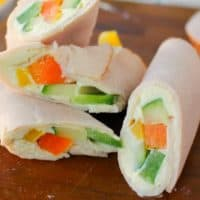 Easy Turkey Snack Wraps