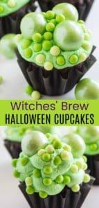 Easy Halloween Cupcakes Chocolate Pinterest Collage