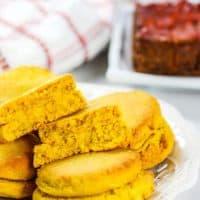 Vegan Gluten Free Pumpkin Biscuits