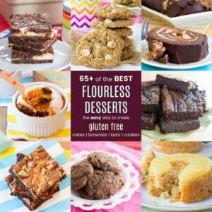 Easy Flourless Gluten Free Cakes Brownies Bars Cookies
