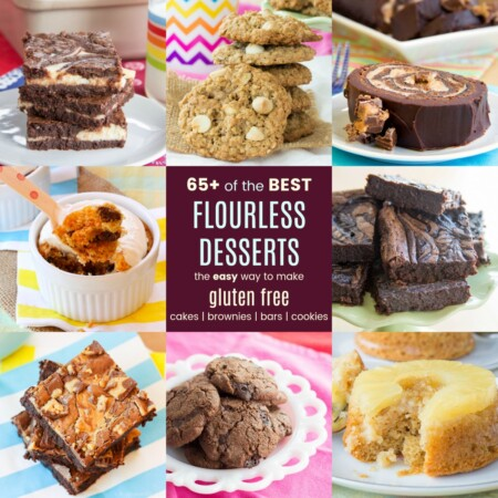 Easy Flourless Gluten Free Cakes Brownies Bars Cookies