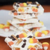 Candy Corn White Chocolate Bark