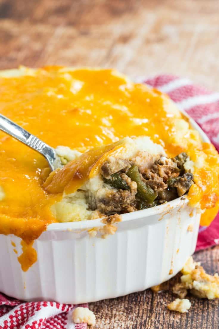 Keto Shepherd's Pie with Cauliflower Mash
