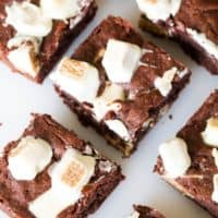 Extra Fudgy KitKat Brownies