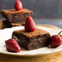 Gluten-Free Chocolate Magic Custard Cake