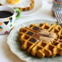 Best Ever Gluten-Free Pumpkin Waffles