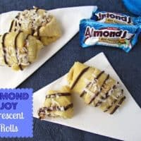 Almond Joy Crescent Rolls
