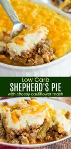 Cauliflower Shepherds Pie Pinterest Collage
