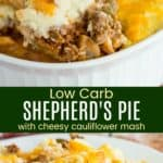 Cauliflower Shepherds Pie Pinterest Collage