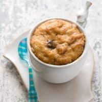 Peanut Butter Chocolate Mug Cake