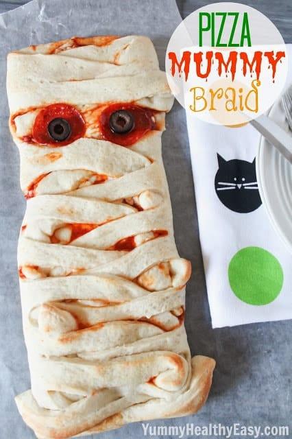 Pizza Mummy Braid
