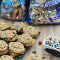 Snickers Monster Cookies