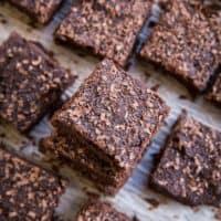 Dark Chocolate Chickpea Brownies