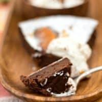 Gluten-Free Chocolate Orange Truffle Cake