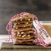 Flourless Hot Chocolate Cookies