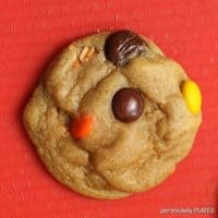 Soft Baked Reese's Pieces Chocolate Chips Cookies