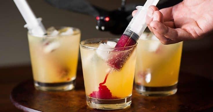 Halloween Vampire Cocktail