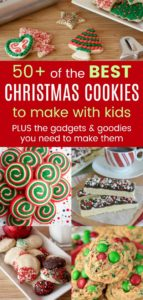 Easy Christmas Cookie for Baking with Kids Pinterest Collage