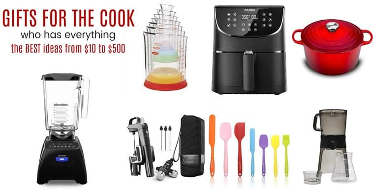Best Gift Ideas for the Cook Who Has Everything Collage