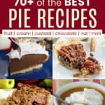 Best Pie Dessert Recipes Pinterest Collage