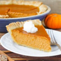 Classic Pumpkin Pie with a Twist