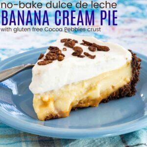 Featured image of Dulce de Leche No Bake Banana Cream Pie Recipe