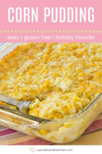Corn Pudding Pin Template Pink