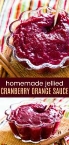 Cinnamon Cranberry Orange Sauce Recipe Pinterest Collage