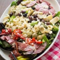 Italian Chopped Salad with Tortellini