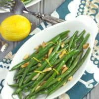 Easy Lemony Green Beans