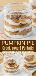 Easy Pumpkin Pie Parfaits Recipe Pinterest Collage