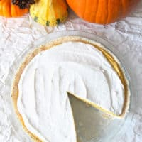 Gluten-Free and Dairy-Free Pumpkin Cream Pie