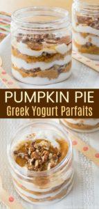 Pumkin Yogurt Parfaits Pinterest Collage