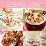 Thanksgiving Leftovers Recipe Pin Template Pink