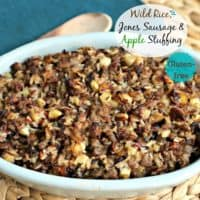 Wild Rice, Jones Sausage & Apple Stuffing