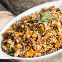 Easy Quinoa Stuffing Recipe