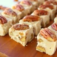 Maple Pecan Fudge